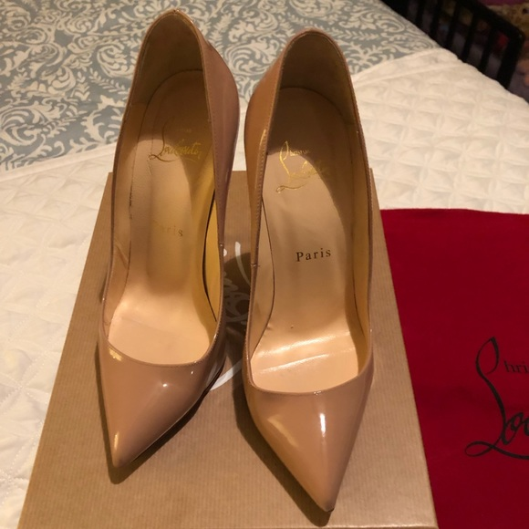 db344861ed4 Christian Louboutin Pigalle 120 Patent Calf